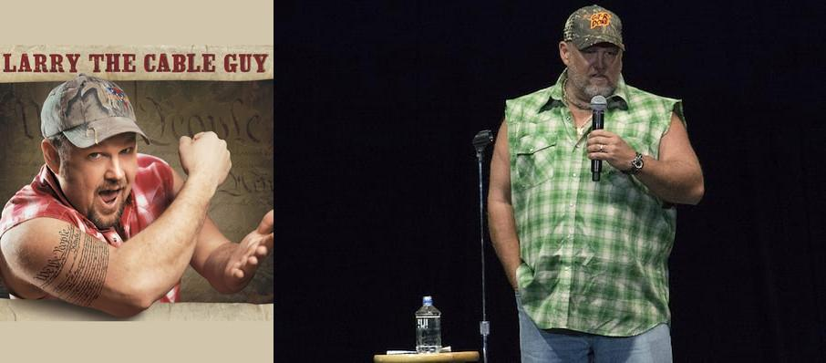 Larry The Cable Guy at Des Moines Civic Center