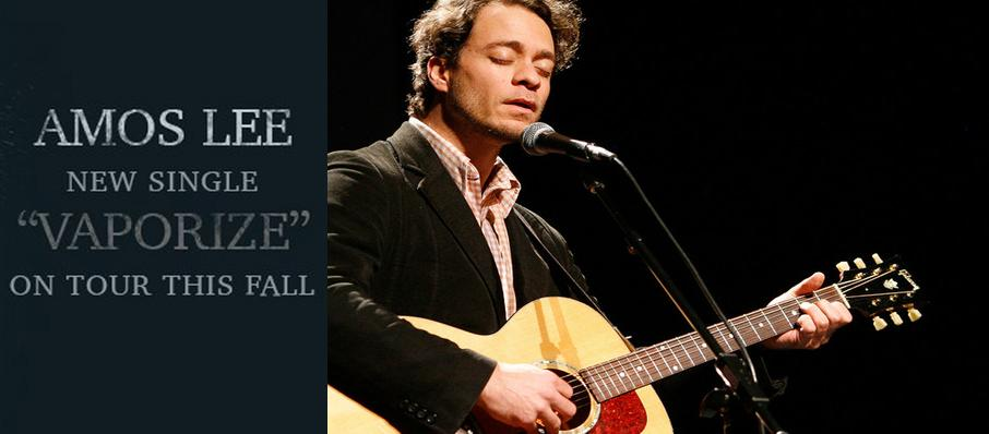 Amos Lee at Hoyt Sherman Auditorium