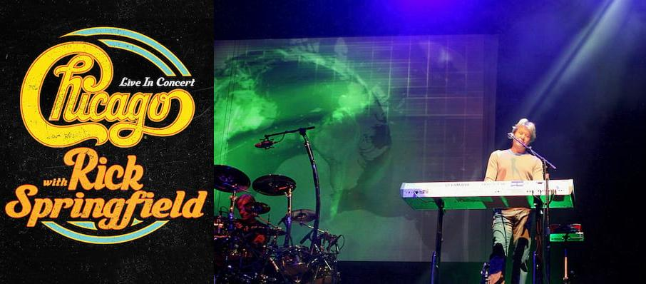 Chicago - The Band at Des Moines Civic Center
