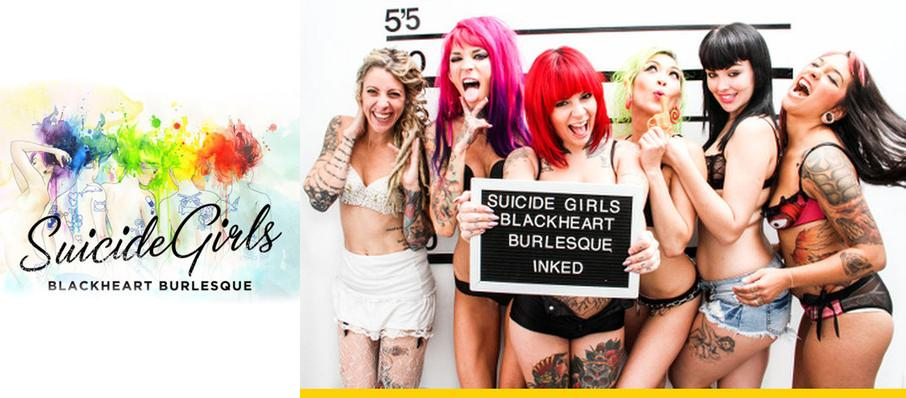 The Suicide Girls - Blackheart Burlesque at Wooly