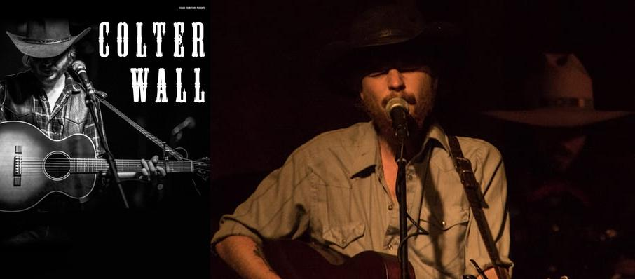 Colter Wall at Wooly