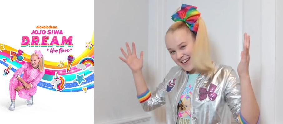 Jojo Siwa at Des Moines Civic Center