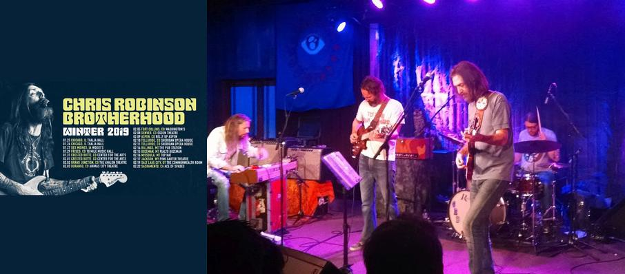 Chris Robinson Brotherhood at Wooly