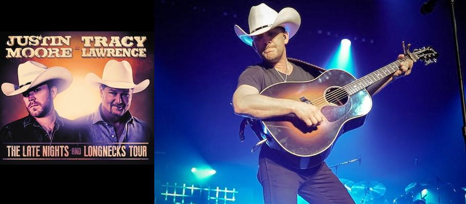 Justin Moore and Tracy Lawrence at Des Moines Civic Center