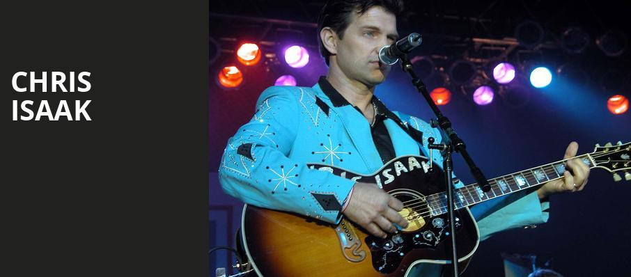 Chris Isaak - Hoyt Sherman Auditorium, Des Moines, IA