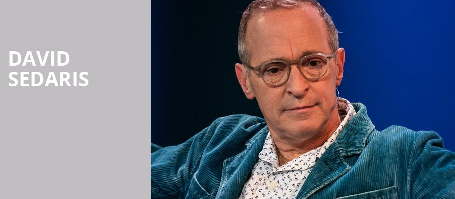 David Sedaris, Hoyt Sherman Auditorium, Des Moines
