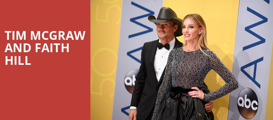 Tim McGraw and Faith Hill, Wells Fargo Arena, Des Moines