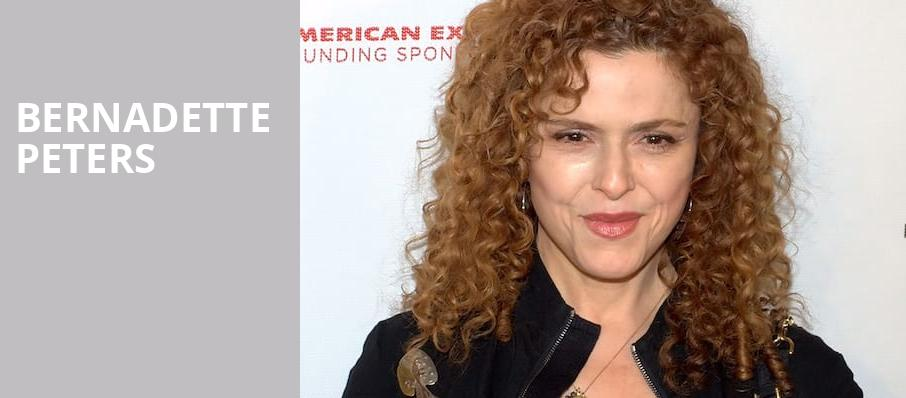 Bernadette Peters, Des Moines Civic Center, Des Moines